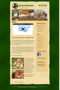 Image of Deer Run Animal Hospital home page.